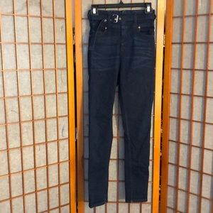 Free people we the free ultra high waist jeans